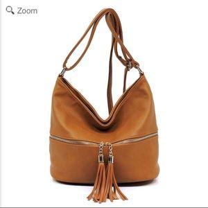Handbags - NEW Fashion Zip Tassel Crossbody Bucket Satchel